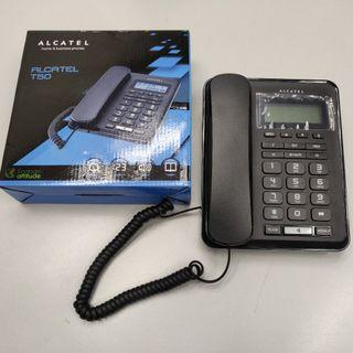 全新 ALCATEL T50 家用來電顯示有線電話