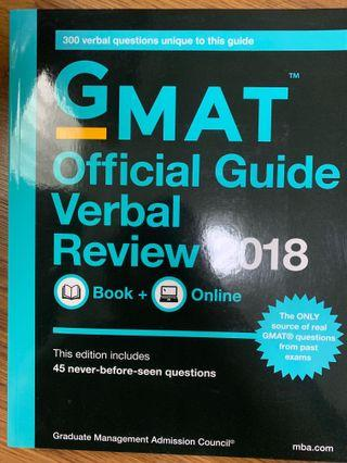 🚚 GMAT Official Guide Verbal Review 2018