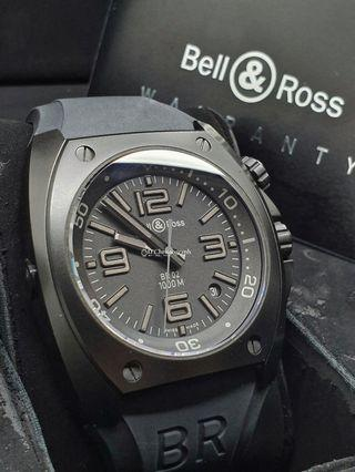 Bell and Ross Diver Phantom BR02