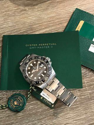 Rolex GMT Master 2 Steel 116710LN