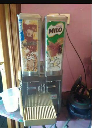 Mesin dispenser minumqn / milo
