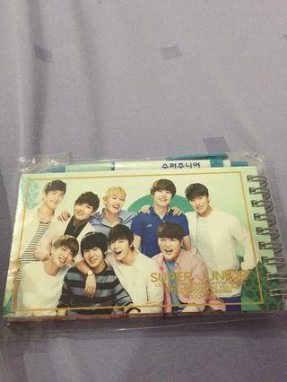 [WTS] Super Junior NotePad