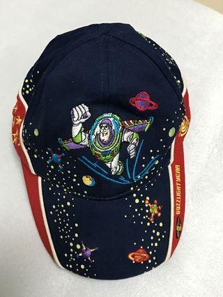 正版迪士尼 購於香港迪士尼 巴斯光年 夜光 鴨舌帽 兒童 搬家清倉優惠價限5/10前交易
