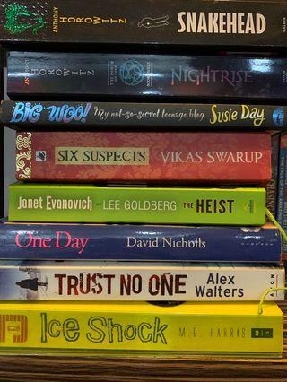 English novels/books