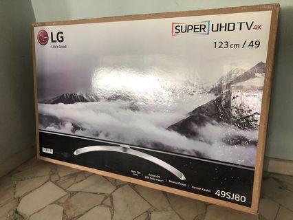 """🚚 LG 49"""" 4K Super UHD HDR TV - (49SJ800T)"""