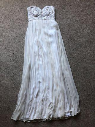 Rachel Gilbert Original White Dress