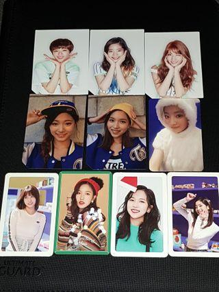 WTT/WTS Twice album photocards
