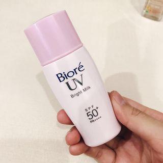 Biore Bright Milk Sunscreen