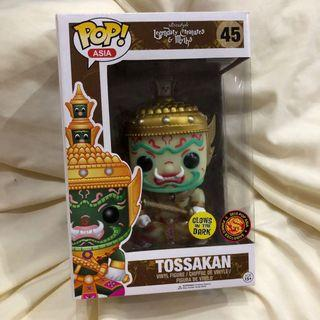 Pop Funko Thailand Exclusive GITD Tossakan Glow Dark Legendary Myth Creature
