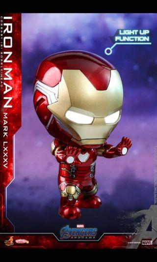 Iron Man Mark 85 LXXXV Cosbaby Light Up LED Marvel Avengers Endgame