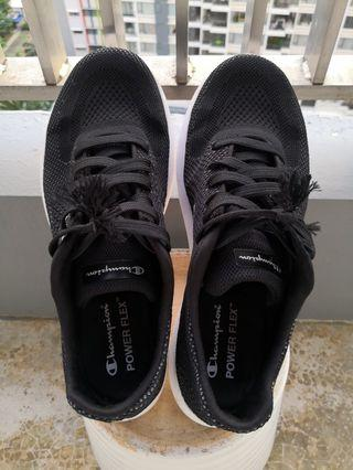 black shoes sneakers champion