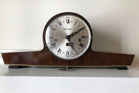 Vintage Clock - Kieninger Clock - Westminster Clock