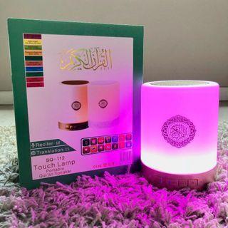🌟Ready Stock: Al-Quran Bluetooth Speaker & Touch Lamp