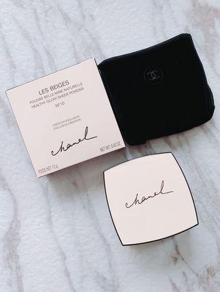 $488 Chanel Les beige healthy sheer glow powder #10 自然色蜜粉 (讓皮膚散發健康色彩)