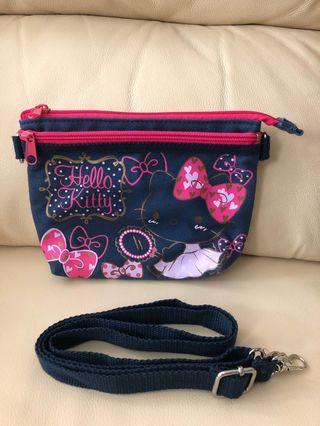 Sanrio Hello Kitty 手袋/ 化妝袋/ 萬用袋 包郵