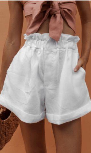 Posse linen ducky shorts RRP $169