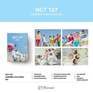 [SG GO] NCT 127 - 2019 NCT 127 SUMMER VACATION KIT 💚