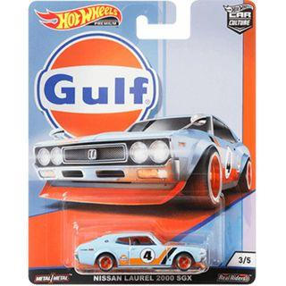 Hotwheels 2019 Gulf Series Nissan Laurel 2000 SGX Rare Hot Wheels Racing