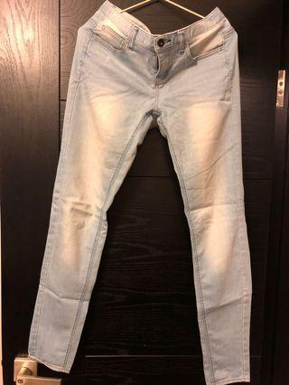 Giordano jeans low rise skinny tapered