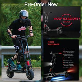 Electric Scooter Kaabo Wolf Warrior