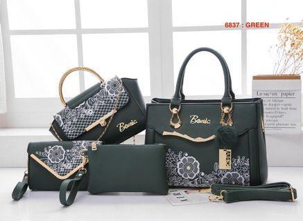 Bonia Handbag Set 5in1