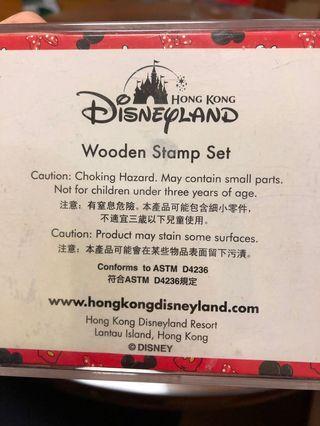 Wooden stamp