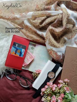 Passport Case -Kozha (tempat paspor) #maujam