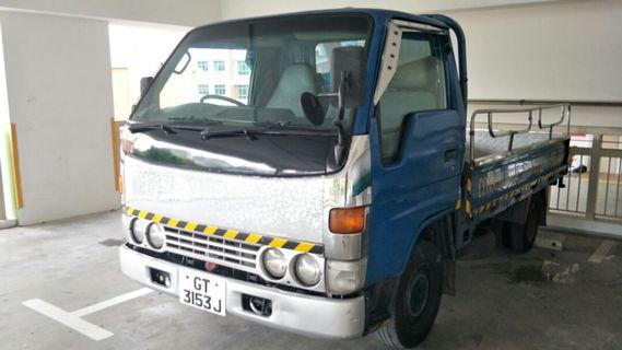 Lorry rental $80 daily