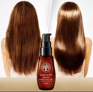 Oil Essention, melembutkan, meluruskan, menghaluska rambut