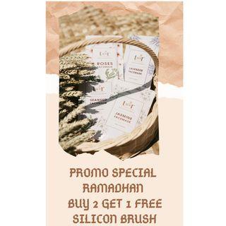 Promo bundle buy 2 get 1 free! Berlaku via shopee!
