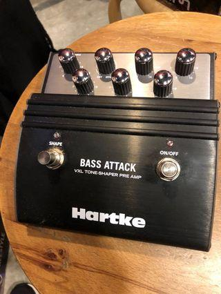 Hartke Bass Attack Preamp pedal