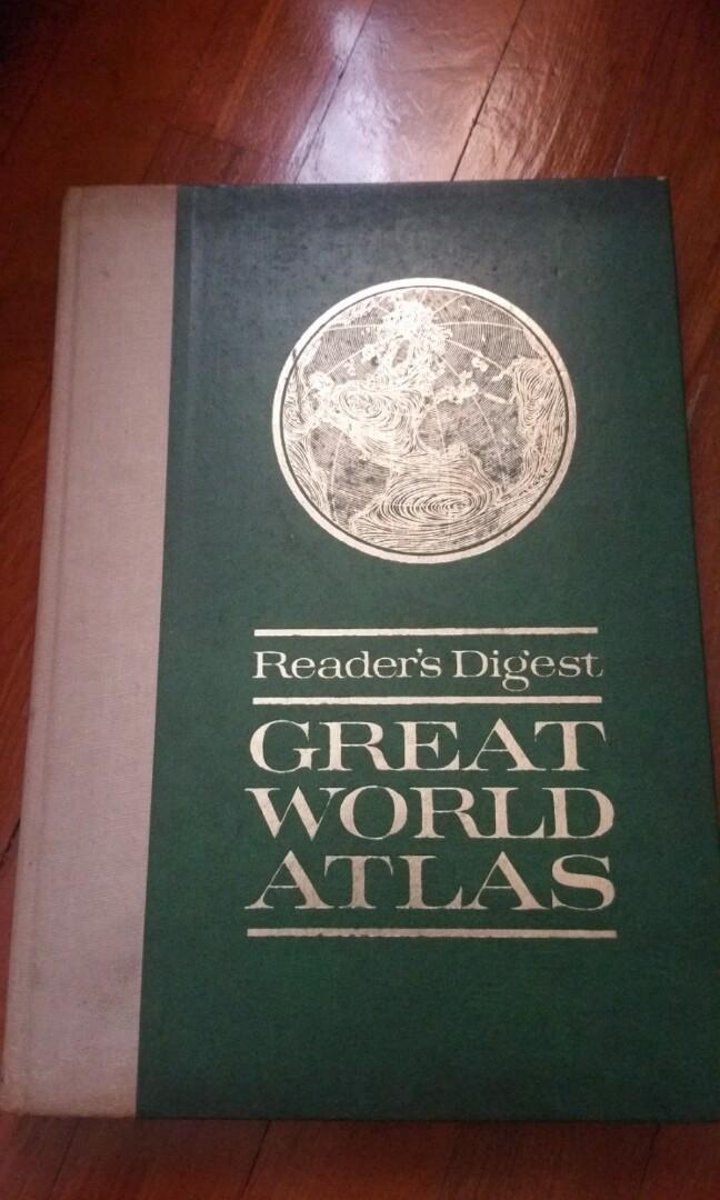 1969 Reader's Digest Great World Atlas Third Edition, Books