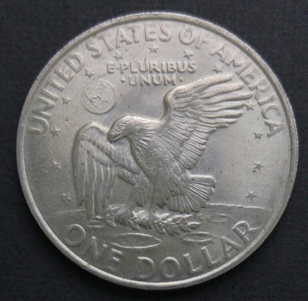1971-D 美國艾森豪威爾$1美金 硬幣一枚