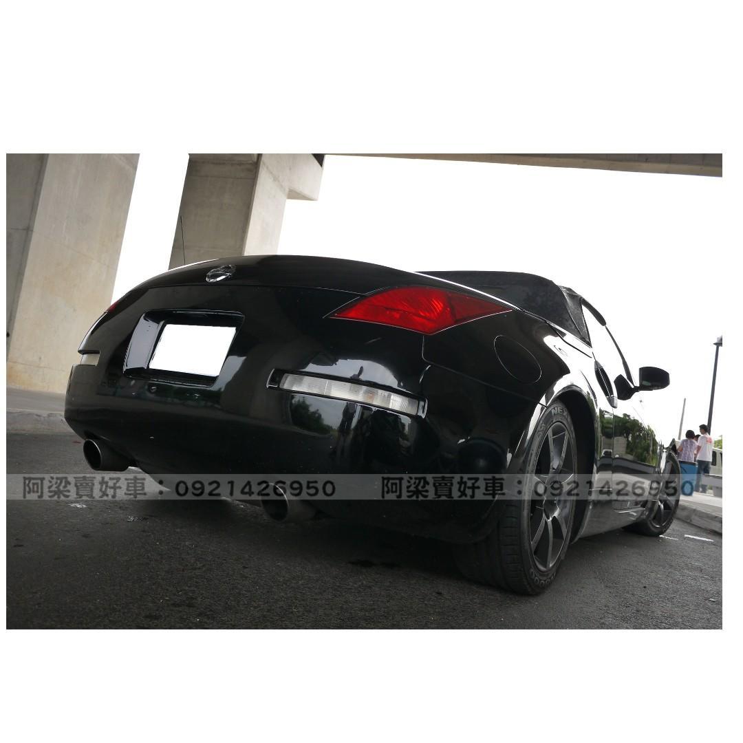 2005年-日產-350Z(開敞篷.當帥哥)『全額貸.低利率』買車不是夢想.歡迎加 LINE.電(店)洽