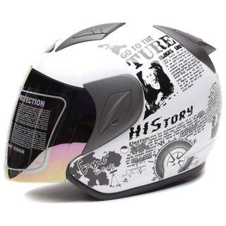 Helm Retro Limited White