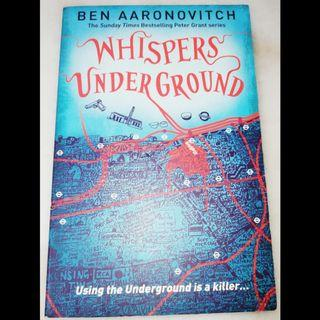 Whispers underground by Ben Aaronovitch