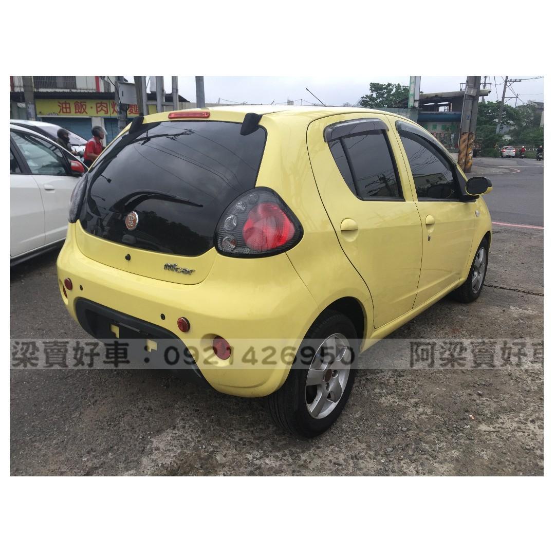 2011年-TOBE酷比-M'CAR(省油代步.小巧可愛)『全額貸.低利率』買車不是夢想.歡迎加 LINE.電(店)洽