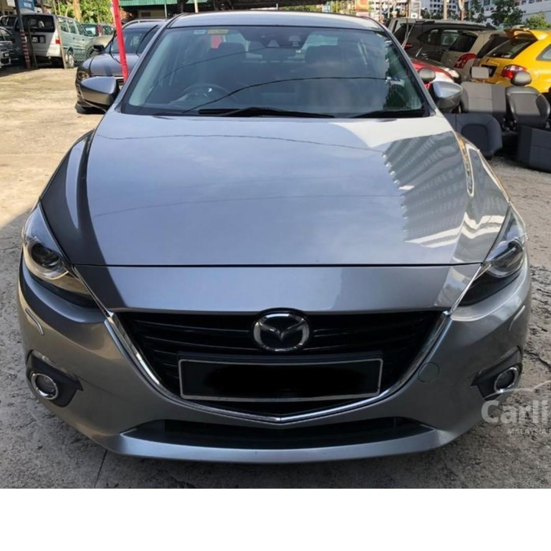 2015 Mazda 3 2.0 SKYACTIV-G High One Owner Leather Push Start Reverse Camera