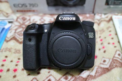 Canon 70D lens 18-55mm