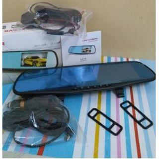 Full HD 1080P Car DVR Double lens Dash camera rearview mirror Video Recorder CAR cam Auto Blackbox G-Sensor