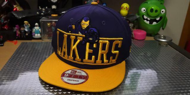 NEW ERA X MARVEL LAKERS X IRONMAN X NBA 帽