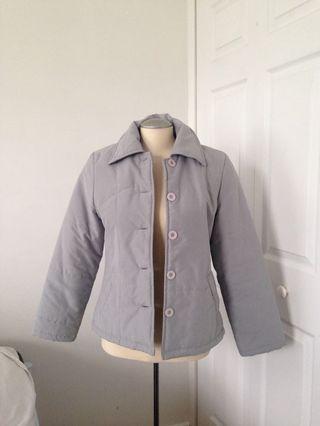 Grey bubble jacket