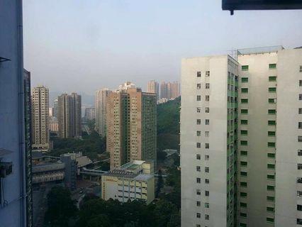 香港市區柴灣建業大樓400萬樓下接9成。
