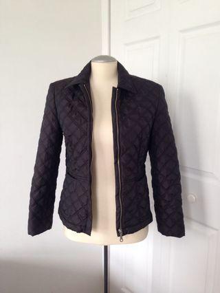Hirsch quilted jacket