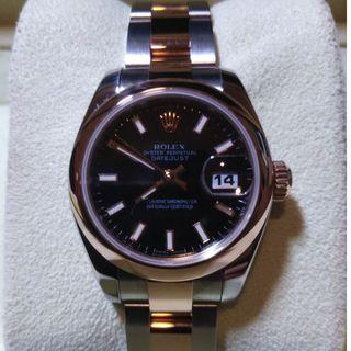 Rolex Lady Oyster Perpetual Datejust Ref 179174