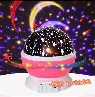 🚚 Novelty Luminous Toys Romantic Starry Sky LED Night Light Projector Battery USB Night Light Creative Birthday Toys For Children