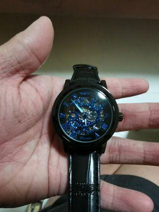 Mechanical Wristwatch (Relogios masculino De Ouro Winner Brand)
