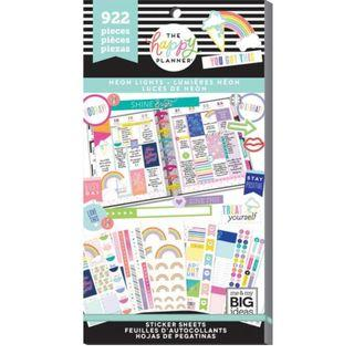 Me and My Big Ideas - Happy Planner Stickers - Neon Lights (Value Pack)