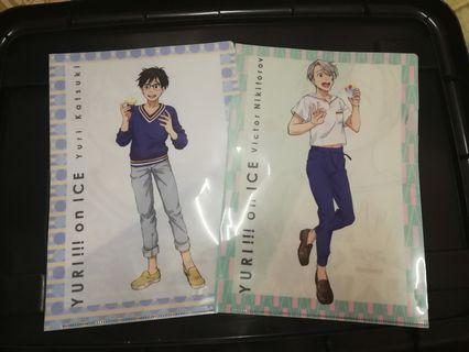 Yuri!! On Ice A4 Clear File [ OFFICIAL ]