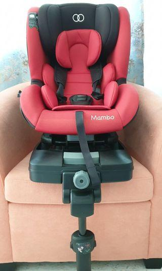 Koopers Mambo Plus ISOFIX Car Seat (Red)